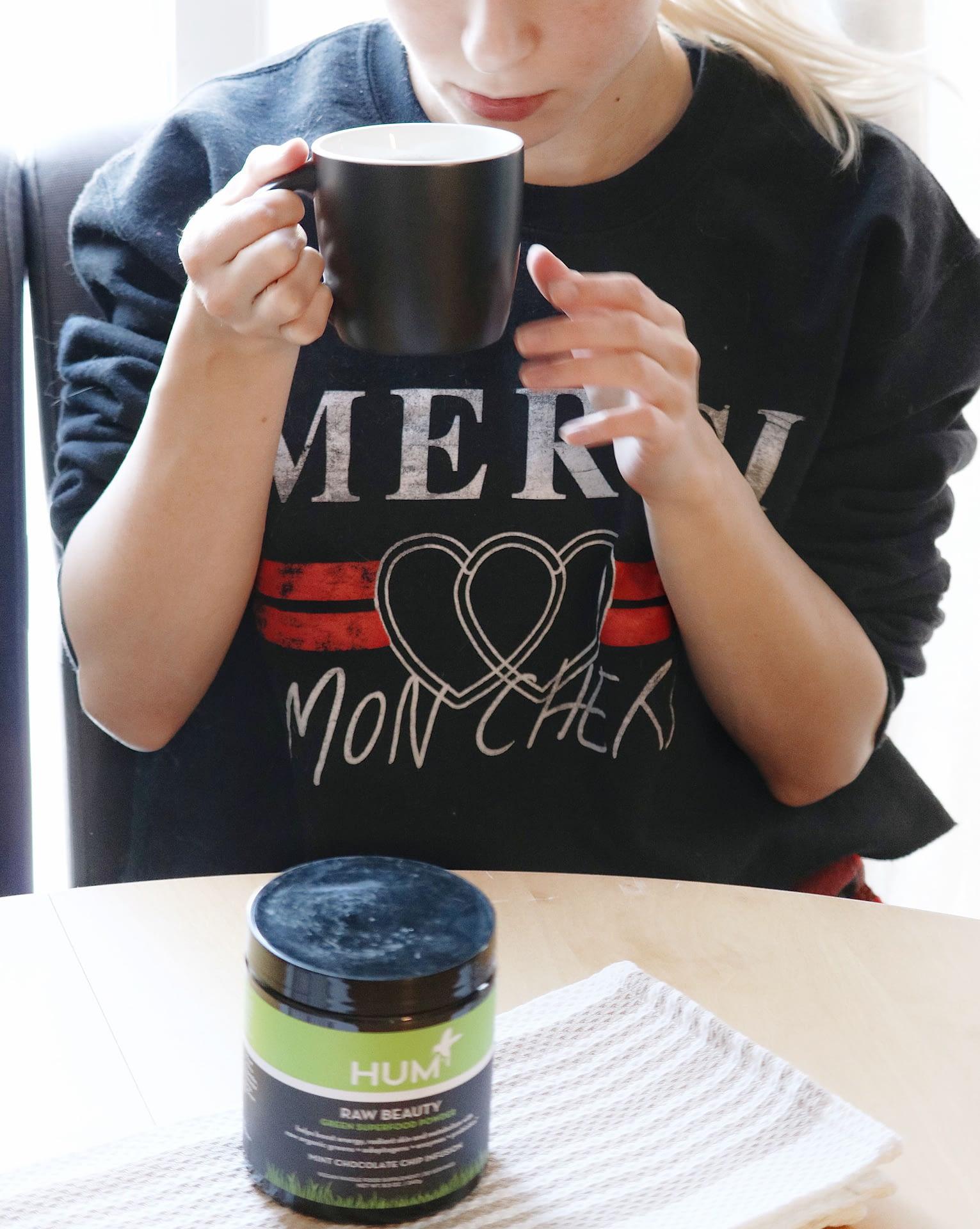 hum nutrition raw beauty tea