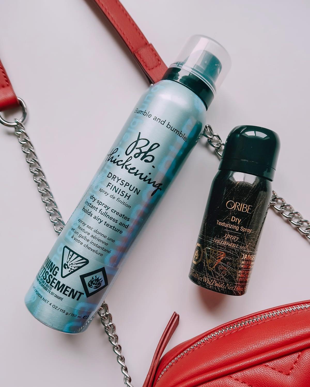 hair care bumble and bumble dryspun texturizing spray oribe texturizing spray