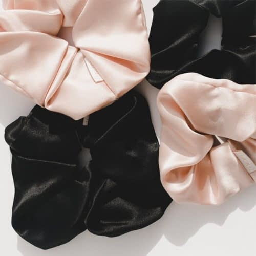 Zenchies luxe organic scrunchies in Canada