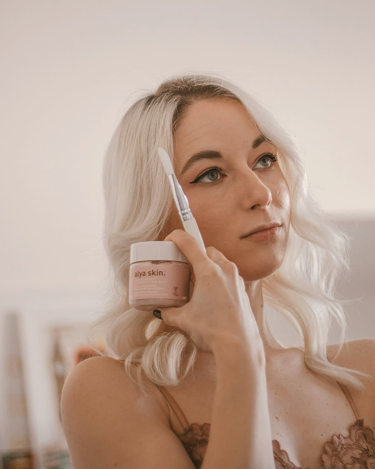 Ayla skin play clay mask review by Nicole Rae